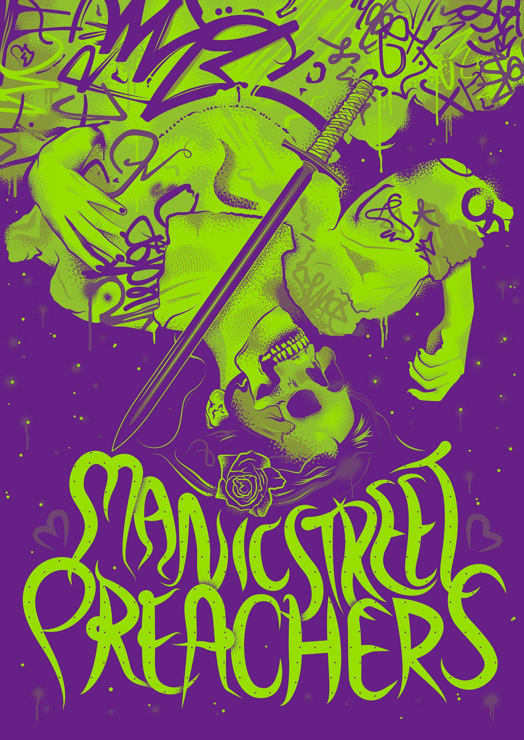 Manic Street Preachers Alternative Gig Poster 2