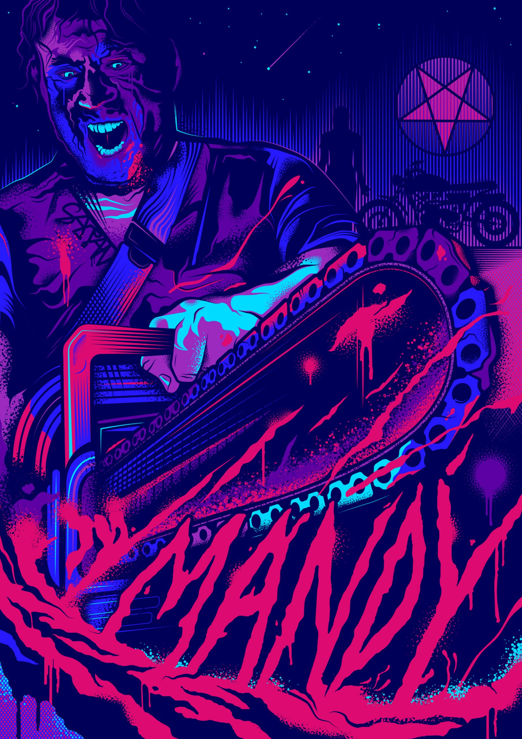 Mandy Alternative Movie Poster