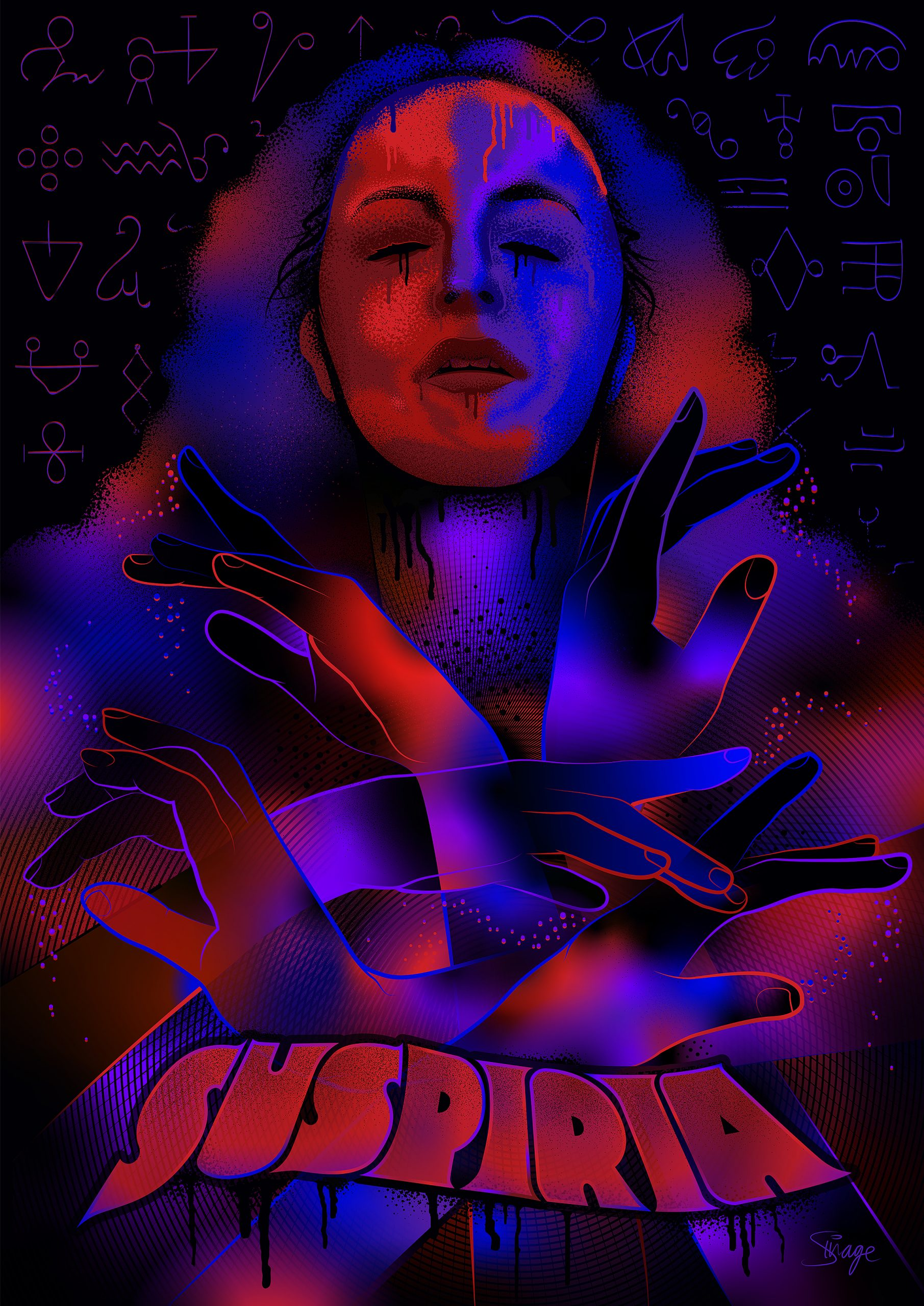 Suspiria Alternative Movie Poster