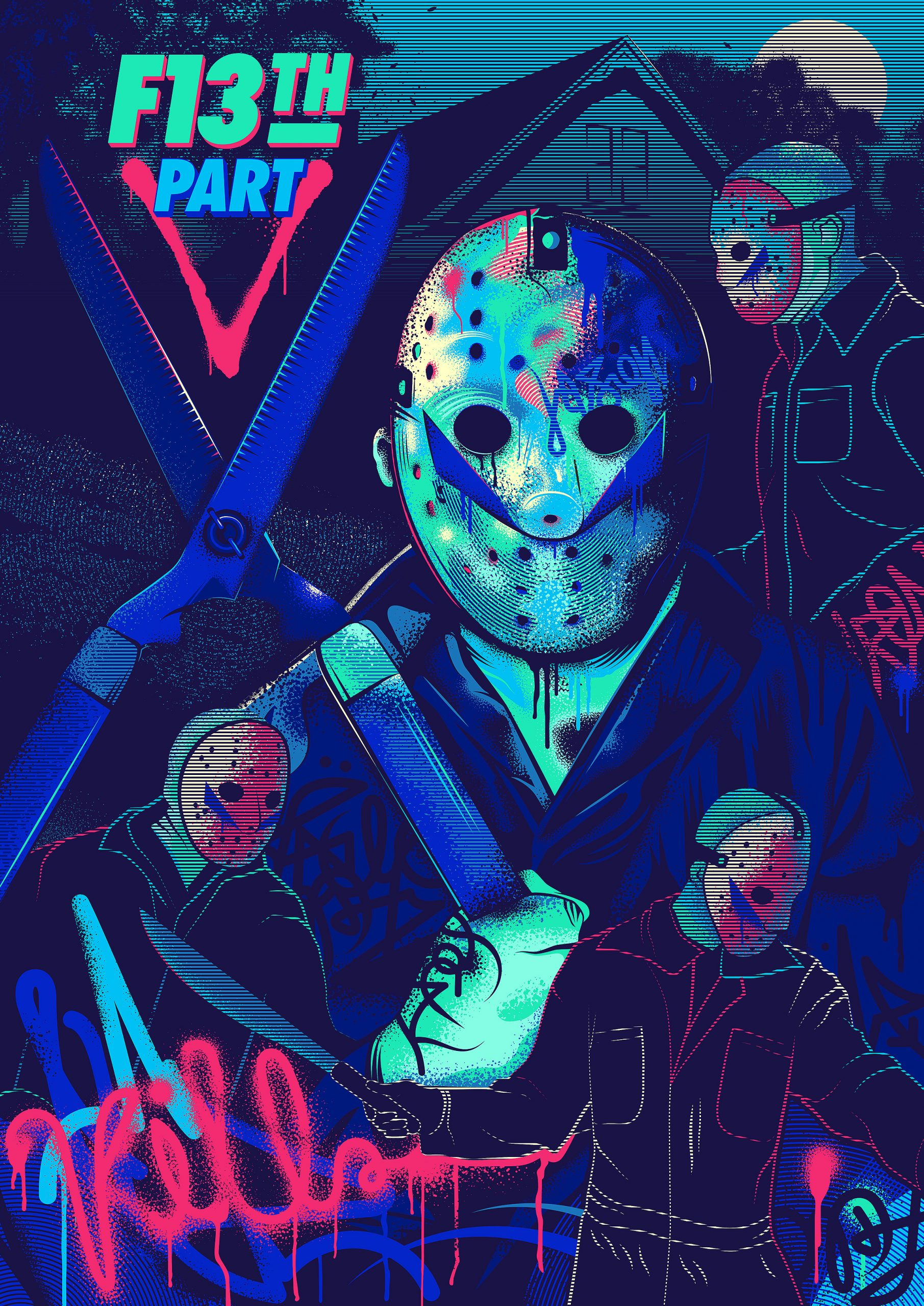 Friday the 13th: Part 5 - Alternative movie poster