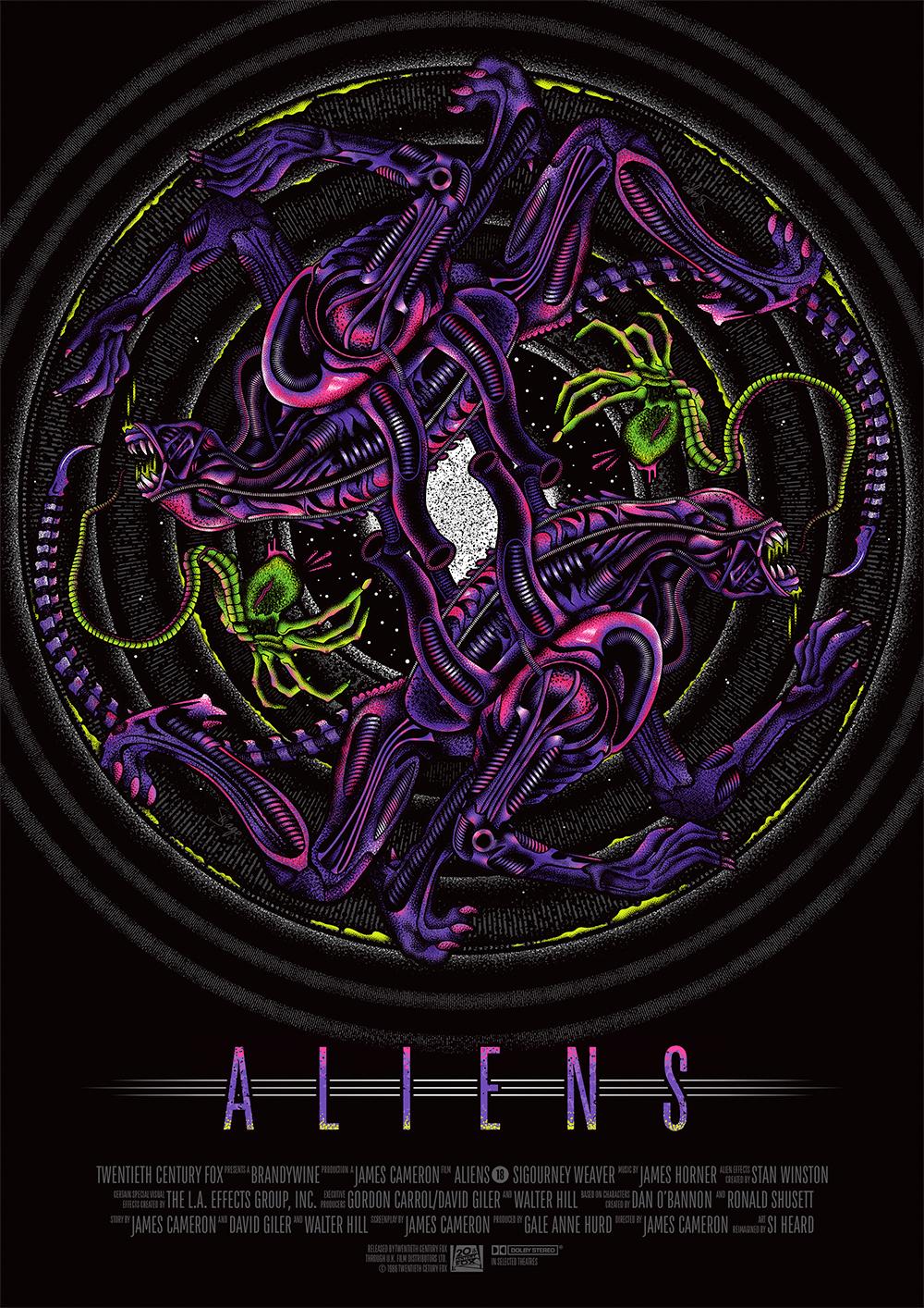Aliens alternative movie poster 1