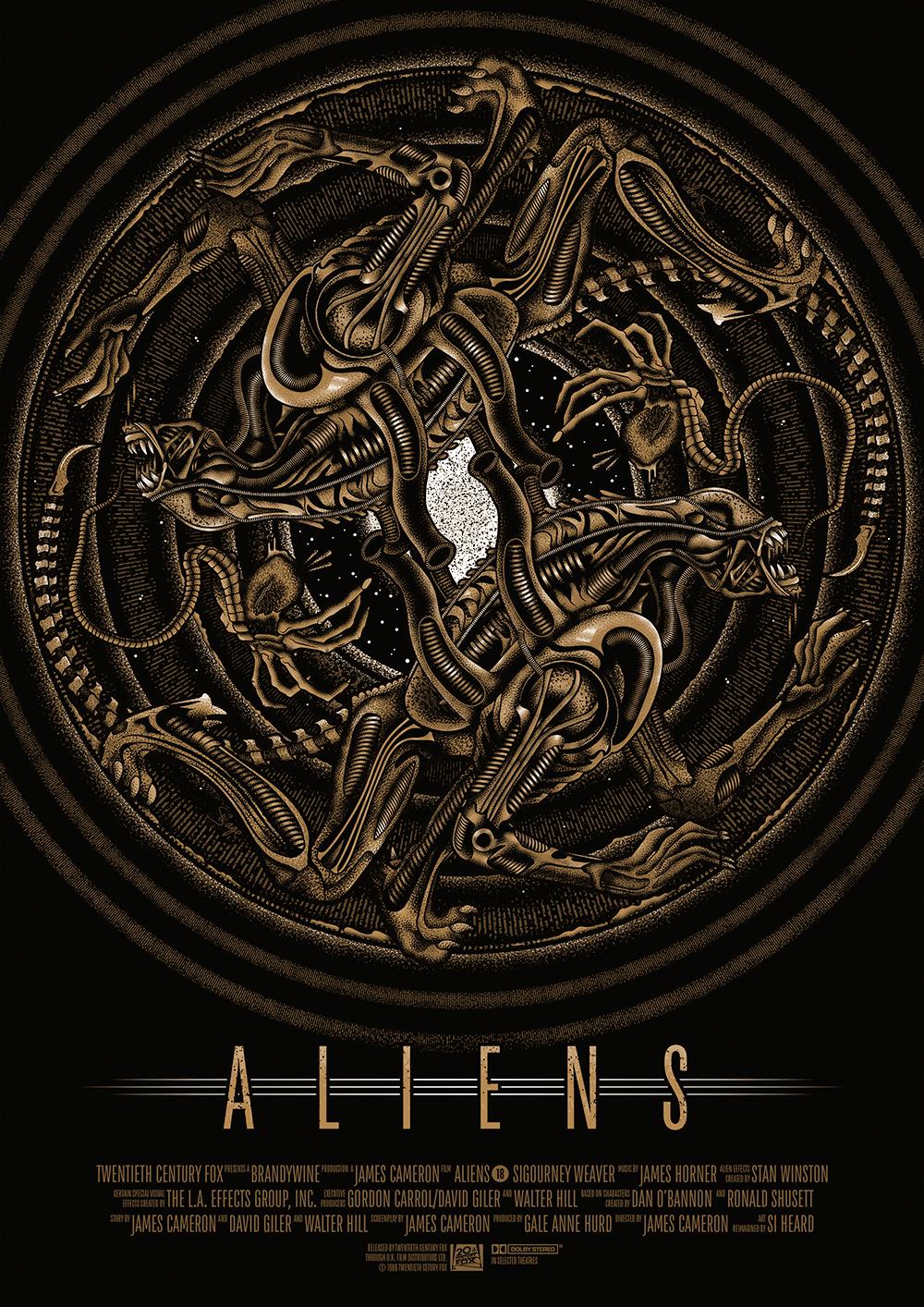 Aliens alternative movie poster 2